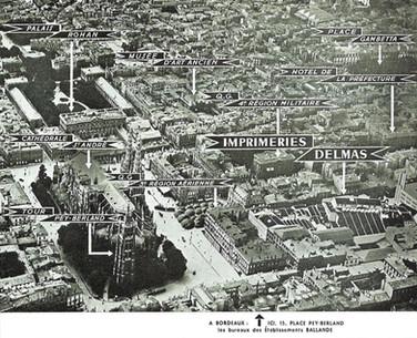 Bureaux des Établissements Ballande à Bordeaux