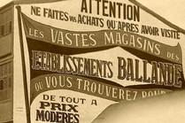 Publicité murale - Etablissements Ballande