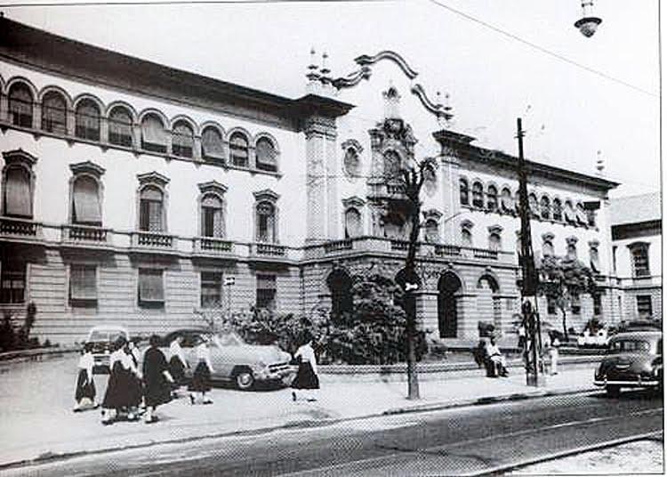 Foto: Instituto de Educação na década de 50