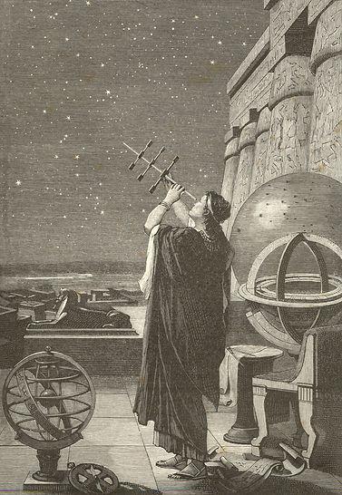 Observatório de Alexandria na Gécia Antiga.