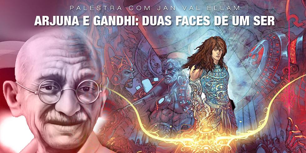 Arjuna e Gandhi: duas faces de um Ser