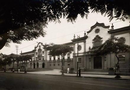 Fotos: Instituto de Educação na década de 40