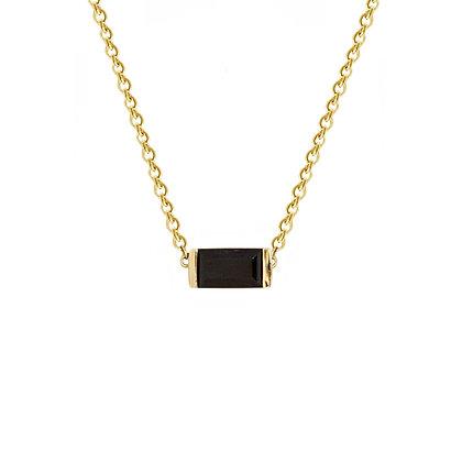 Black Onyx Bonbon Necklace