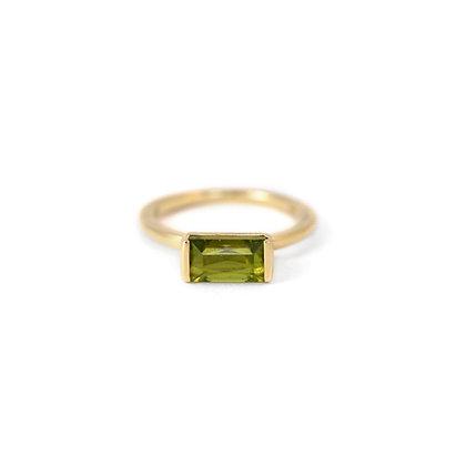 Peridot Bonbon Ring