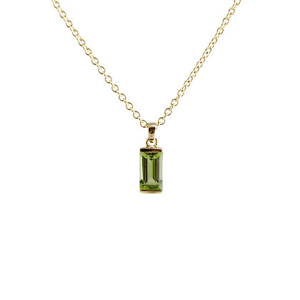 Peridot Bonbon Necklace
