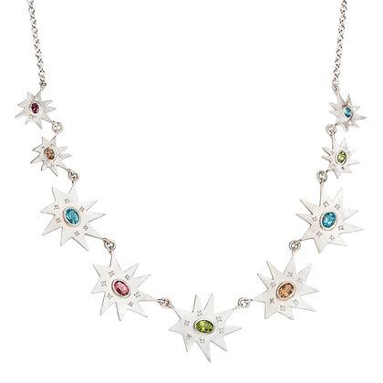 Silver Grand Stella Necklace