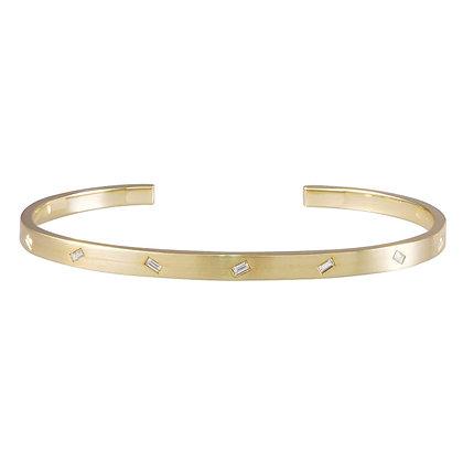 Jubilation Cuff Bracelet - Diamonds