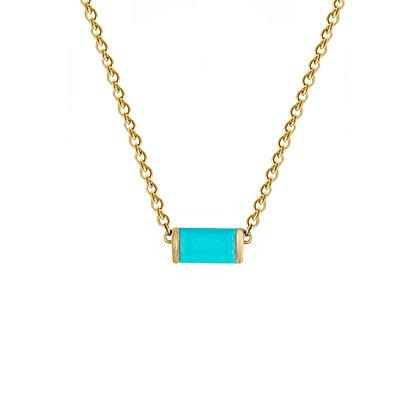 Turquoise Bonbon Necklace