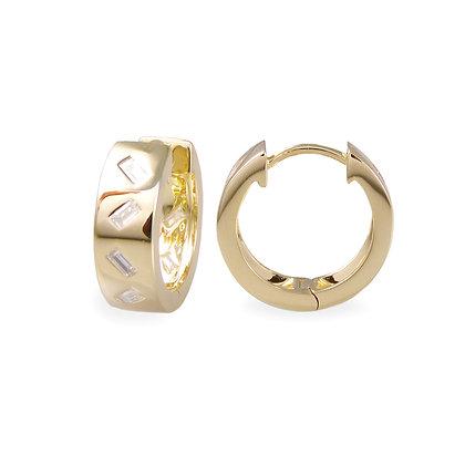 Diamond Jubilation Hoop Earrings