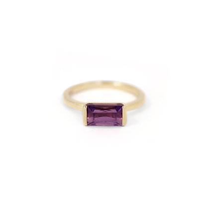 Amethyst Bonbon Ring