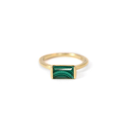 Malachite Bonbon Ring