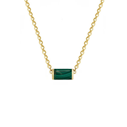 Malachite Bonbon Necklace
