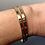 Thumbnail: Multicolor Sapphire Jubilation Cuff Bracelet