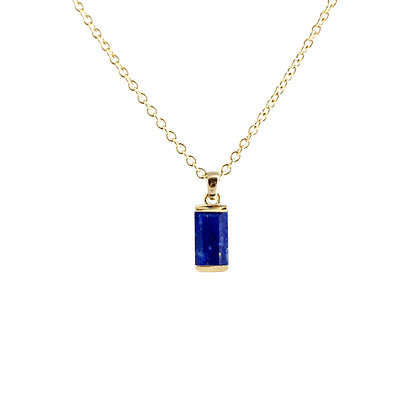 Lapis Bonbon Necklace