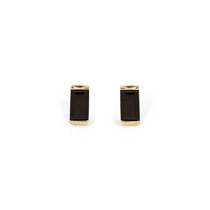 Onyx Bonbon Stud Earrings