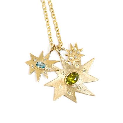 Stella Cluster Necklace