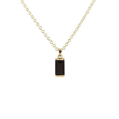 Black Onyx Bonbon Pendant