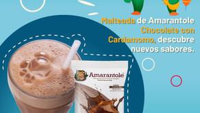 Malteada de Amarantole Chocolate con Cardamomo, descubre nuevos sabores.
