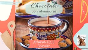 Amarantole de chocolate con almendras.