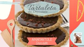 Tartaleta de Amarantole de Chocolate sin horno