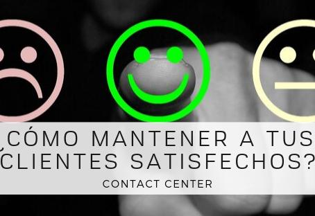 ¿Cómo mantener a tus clientes satisfechos?