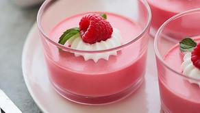 Gelatina de Fresa y Yoghurt con Amarantole.
