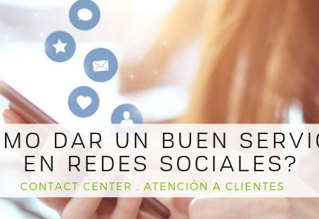 ¿Cómo dar un buen servicio en Redes Sociales?