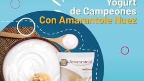 Yoghurt de Campeones con Amarantole Nuez
