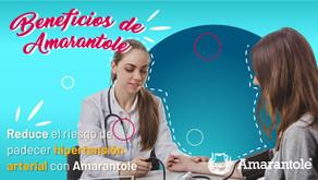 Reduce el riesgo de padecer hipertensión arterial con amarantole