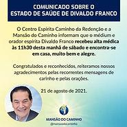 Notizie su Divaldo Franco