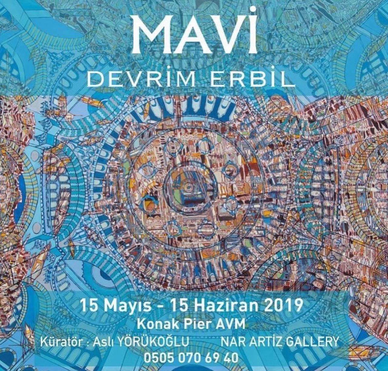 Devrim Erbil-Mavi