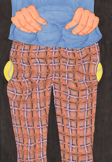Pockets full of tennis balls