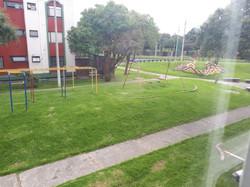 Vista hacia el parque