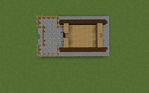 Minecraft Budujmy Maly Dom Minecraftsite2 Wszystko O Minecraft