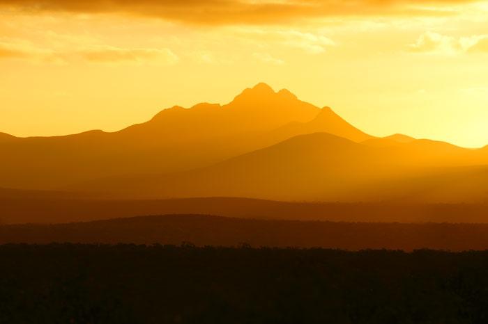 Sunset, Stirling Ranges