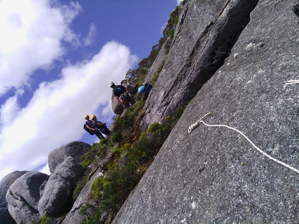 Mt Frankland Abseil