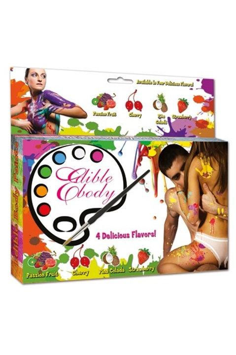 Edible Body Boite peinture corps gourmande
