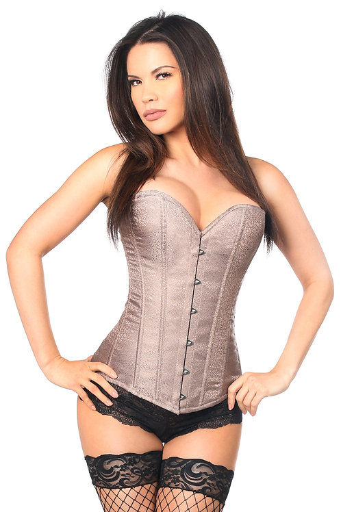 "Somptueux corset de brocart ""Coralie"""