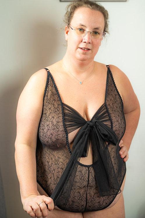 Iona body sensuel - Noir (jusqu'à la taille 60)