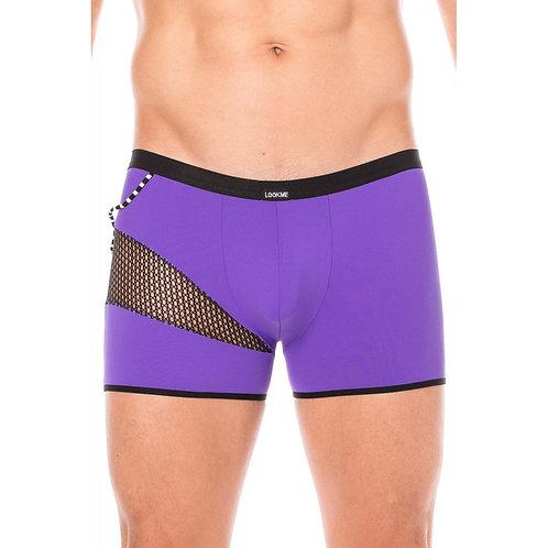 Boxer violet filet et corde (CLD)