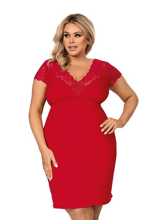 Chemise de nuit Tess rouge (DN)