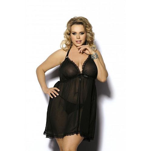 Nuisette noire glamour Adola