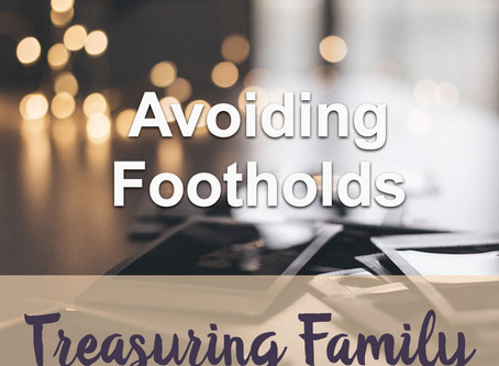 Avoiding Footholds