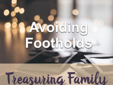Avoiding Footholds