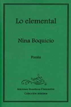 Lo elemental-Nina Boquicio