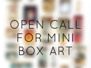 Open Call for Mini Art with Arc, Stockport