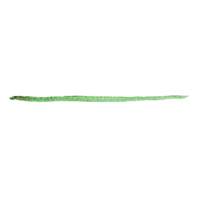Green Paint Stroke