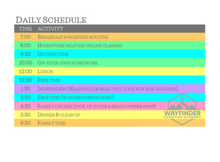 FREE DOWNLOADS    9 Types of Homeschool Schedules