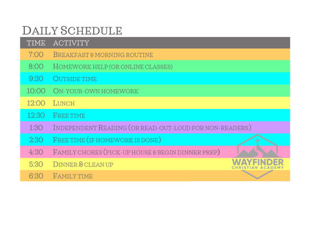 FREE DOWNLOADS |  9 Types of Homeschool Schedules