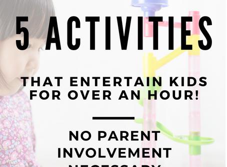 Parent Break   5 Educational Activities Kids Will Play for Hours